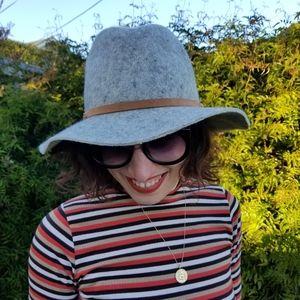 Target | wool wide brim hat